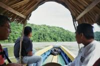 Boat trip to Yaxchilan