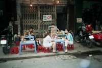 Street kitchen in Hanoi