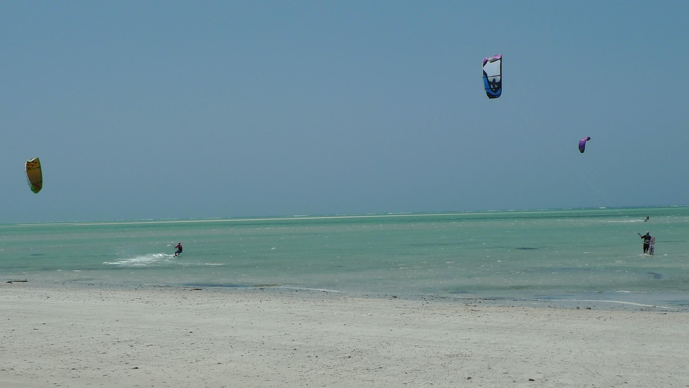 Kitesurfing Murrebue