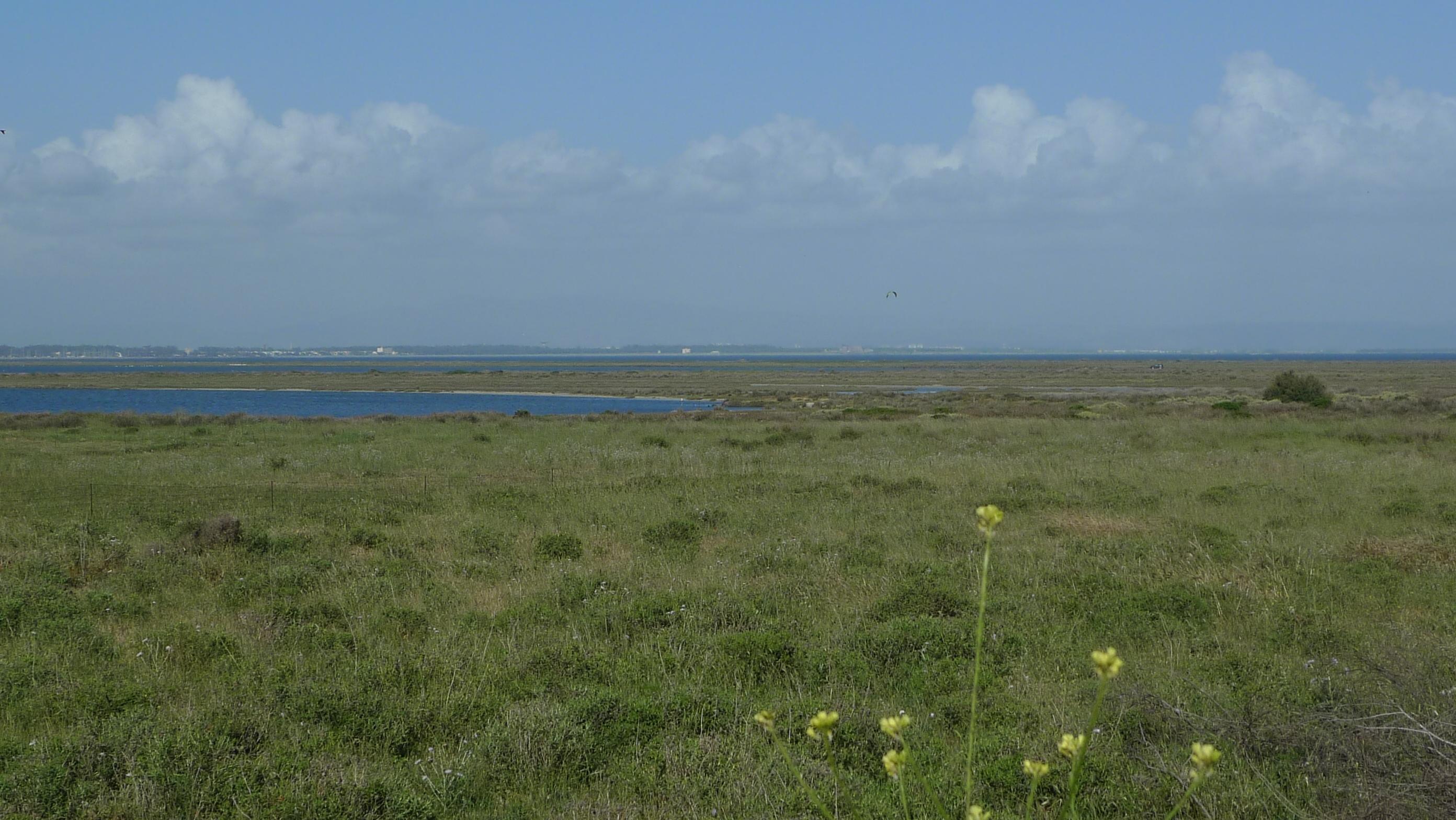 Funtana Meiga lagoons